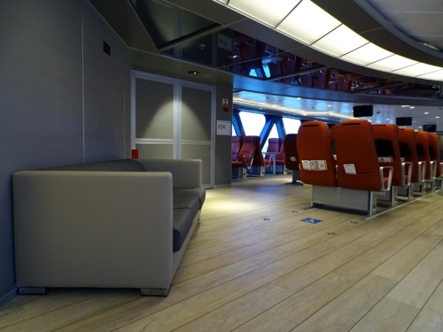 upper deck front